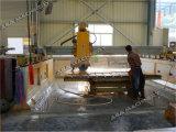 Machine de découpage en pierre complètement automatique de passerelle pour tuiles de granit/de marbre