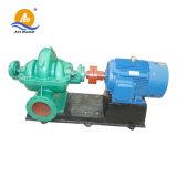 Bomba de agua ahorro de energía del flujo del impulsor gemelo centrífugo horizontal alta