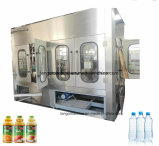 Botella de Pet automático bebidas beber Líquido Máquina Tapadora de llenado