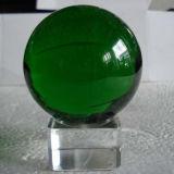 De Kristallen bol van Kerstmis, de Bal van het Glas met Duidelijke Tribune