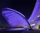 Het vrije Membraan PTFE van de Hoogspanning van de Steekproef Hittebestendige Architecturale