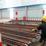 トンネルの鉄道の構築機械で使用される小さい管の打つこと