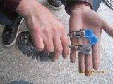 Pipe en plastique de ressort pour le bidet, boyau de bidet d'unité centrale