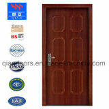 2018 porte en bois ignifugé /feu porte de bois solide avec porte coupe-feu certifié UL