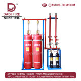 Система противопожарного оборудования газа FM200 поставкы 4.2MPa фабрики автоматическая