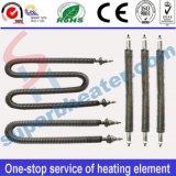 ステンレス鋼の管のFinned管状のヒーターの発熱体