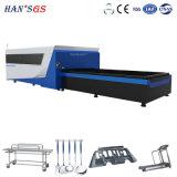 Cer ISO bescheinigen Messing/kupferne Faser-Laser-Ausschnitt-Maschine