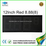 LED de 12 pulgadas de la estación de gas de signo (TT30SF-3R-rojo)