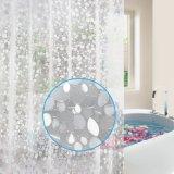 Water Dome el diseño 3D EVA Cortina de ventana de cuarto de baño para el comercio al por mayor