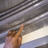 Température élevée de la Silice têtard de la bande avec corde de silice Core