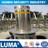 Manual Control Bollard를 가진 주차 Barrier Semi-Automatic Rising Stainless Steel