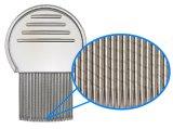 Maniglia dell'acciaio inossidabile & pettine dei pidocchi capi dei perni