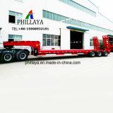 반 2개의 3개의 4개의 차축 Lowbed 낮은 침대 무거운 로더 트럭 트레일러