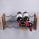 Бутылка владением 8-20 шкафа вина провода металла Stackable