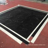 China de Mármol Negro Marquina de baldosas y losas contador