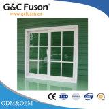 La Chine de haute qualité de double vitrage vitre coulissante en aluminium avec grille