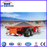 Eje 2 40ft /20ft transporte de contenedores esqueleto camión trailer