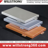 Panneau en matériau composite Titanium-Zinc pour mur extérieur Caldding