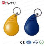 Rewritable wasserdichte ABS RFID intelligentes Keyfob für Zugriffssteuerung