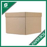 싼 가격에 있는 도매 주문 Dourable 물결 모양 화물 박스