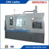 Автоматическая машина CNC в Slant кровати с затяжелителем Gantry в подносе