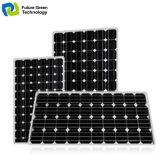 el panel solar fotovoltaico de la azotea de la instalación de la potencia 200W