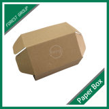 Выполненный на заказ Brown Kraft бумажная коробка для пересылать