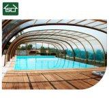 안전 수영장은 강철 구조물 수영풀 울안을 커버한다