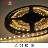 Lumière de bande de DEL 3528 SMD 60LEDs par mètre, 24W/Roll