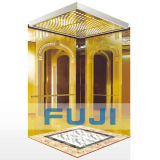 Personenlift Lift mit Titanium Gold Mirror Preis in China