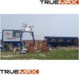 La capacité de production de création de lot stationnaire 40CBM/heure avec l'alimentation de la courroie