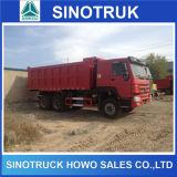autocarro con cassone ribaltabile di estrazione mineraria di 30ton HOWO 6X4 371HP dalla Cina