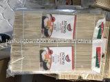 De vlakke Witte Kleur van de Mat van Rolling van het Bamboe van Sushi