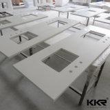 parte superiore di superficie solida a buon mercato acrilica di vanità della stanza da bagno 48inch