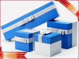 ギフトの宝石類の荷箱青いスペースカバー宝石箱の宝石類