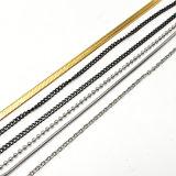 Halsband van de Tegenhanger van de Ster van de Juwelen van het Roestvrij staal van de manier de Zilveren