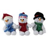 Speelgoed het Van uitstekende kwaliteit van de Pluche van de Pinguïn van Kerstmis van de douane