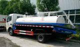 4X2 Dongfeng 6000 L 대변 흡입 트럭 찌끼 유조 트럭 6 톤