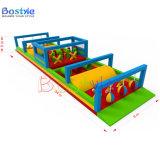 Obstacles traversants gonflables campants/jeu gonflable barrière de cordon