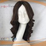 La parte superior de la seda de alta calidad Venta caliente peluca (PPG-l-027)