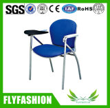 L'éducation meubles Président de l'École des chaises en plastique avec tablette