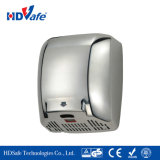 Automatic Sanitaryware High Speed Motor Sensor Electric Jet Air Hand Dryer clouded