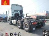371HP Sinotruk HOWO 6X4 트랙터 트럭 무거운 트레일러 트랙터