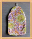 Glatter klassischer Blumen-Muster-Plüsch-Deckel für Heißwasser-Flasche
