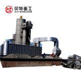 120tph planta mezcladora de asfalto de servicio en el extranjero