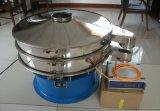 Tela de vibração giratória ultra-sônica do abanador do separador da peneira para a areia