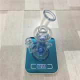 Coppa del tubo di acqua della vasca di gorgogliamento di Glassic del narghilé di Feng Shang per fumare