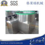 Botella de vidrio Unscrambler semi-automático Máquina/botella de la máquina de clasificación