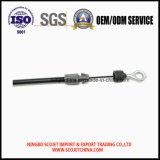 El cable de freno para las herramientas de jardín