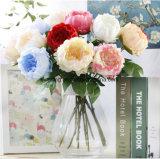 Fausse le commerce de gros de la tige des fleurs de pivoines Jeweled mariage pivoine artificielle Garland Fleur artificielle artificielle de l'affichage des Pivoines